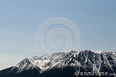Mountainous glacier