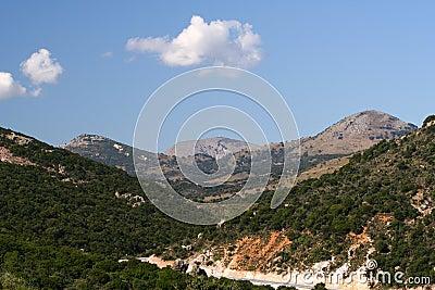 Mountainous landscape