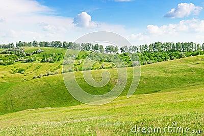 Mountainous terrain