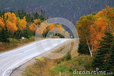Mountains in Autumn