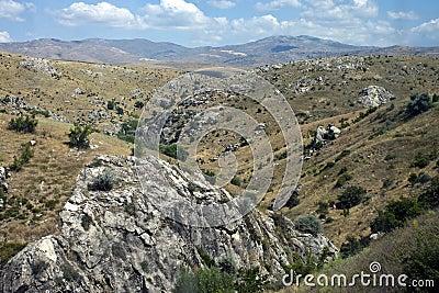 Mountains in central Anatolia