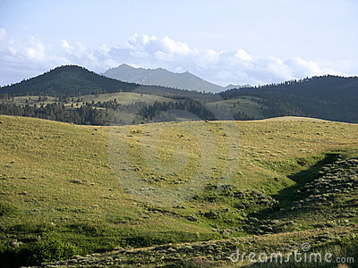 Mountains and countryside