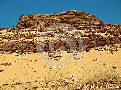 Mountains the desert. Africa