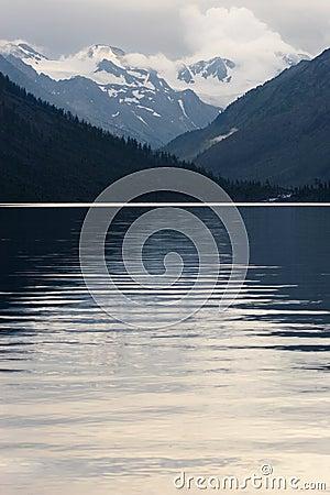 Free Mountains, Lake And Reflection. Stock Photo - 1413920