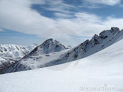 Mountains landscape Caucasus