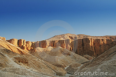 Mountains in Luxor