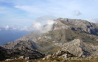 Mountains in Majorca - RAW format