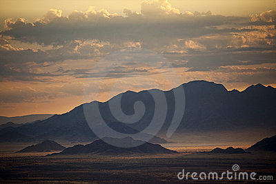 Mountains in Namibia