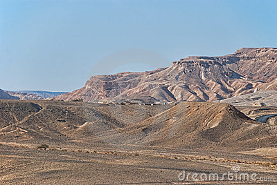 Mountains in negev desert, Israel