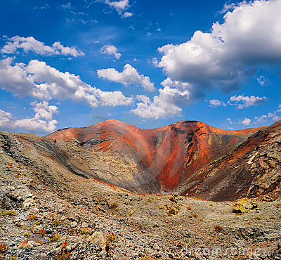 Free Mountains Of Fire,Timanfaya On Lanzarote Stock Photos - 20631133