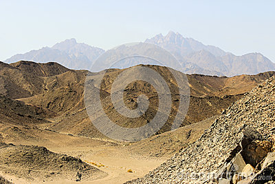 The mountains of the Red Sea