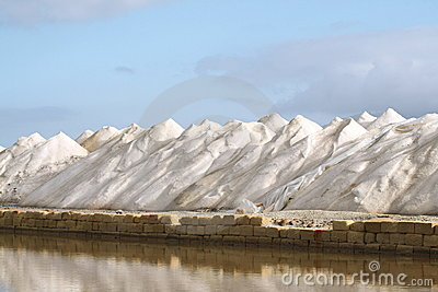 Mountains of salt