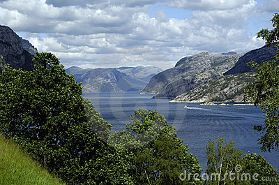Mountains and sea, Scandinavia
