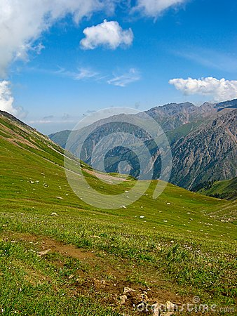 Mountains at Shymbulak Ski Resort