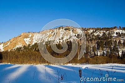 Mountains in Siberia