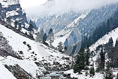 Mountains, Sonamarg, Kashmir, India