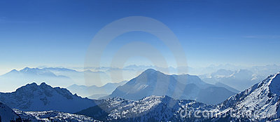 Mountains Top Panorama Stock Photography - Image: 4426882