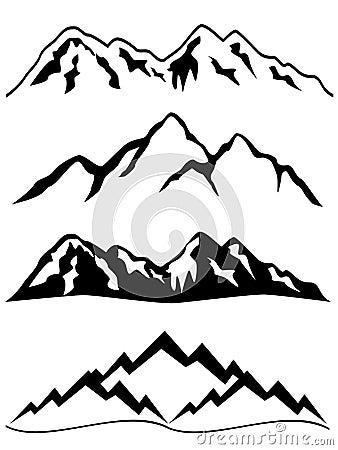 Free Mountains With Snow Royalty Free Stock Photo - 15295085