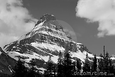 Mountaintop in Glacier Park