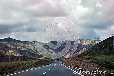 Mountan road