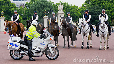 Mounted Policemen Editorial Image