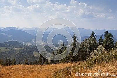Mountens landscape