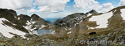 Mountinious landscape