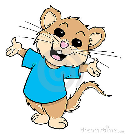 Free Mouse Cartoon Illustration Stock Photo - 11670820