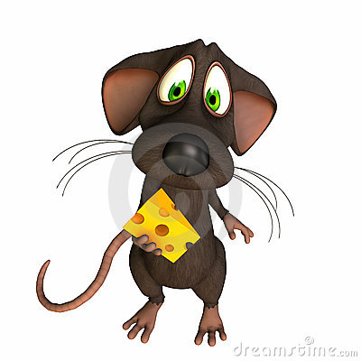 Mouse - Caught with Cheese