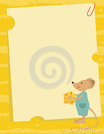 Mouse and Cheese Note