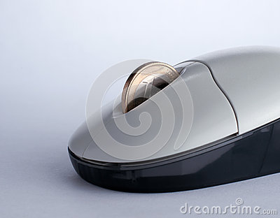 Mouse with coin