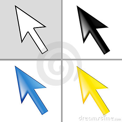 Free Mouse Cursor - Pointer - Arrow Royalty Free Stock Image - 4533526