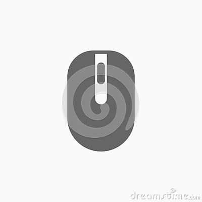 Mouse icon, computer vector Vector Illustration