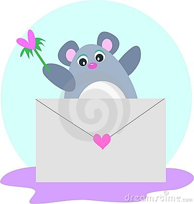 Mouse Letter