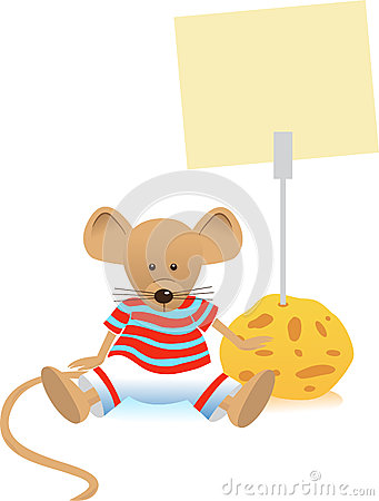 Mouse and Note Holder