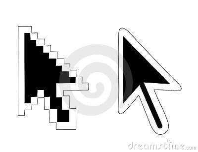 Mouse pointers arrow