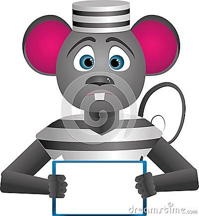 Mouse-prisoner