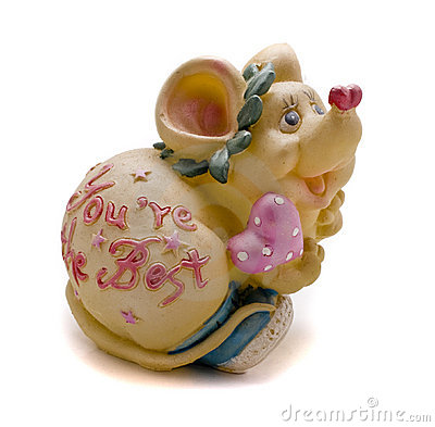 Mouse statuette