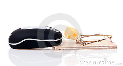Mouse trap and wireless mouse