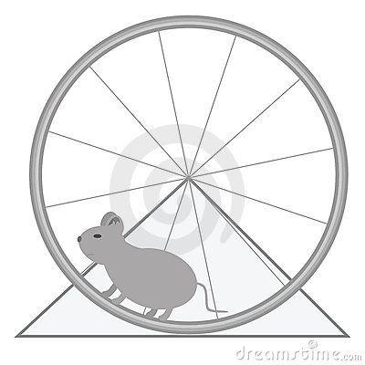 Mouse and wheel