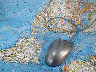 Mouse on World Map