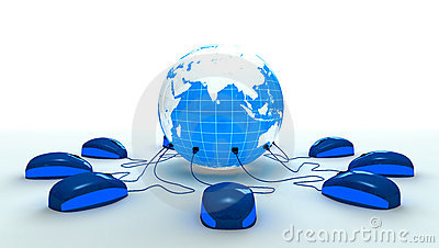 Mouses Connected to The World