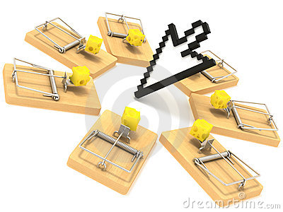Mousetrap and cursor