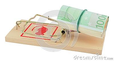 Mousetrap mit Euro