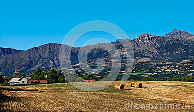 Moutainous村庄