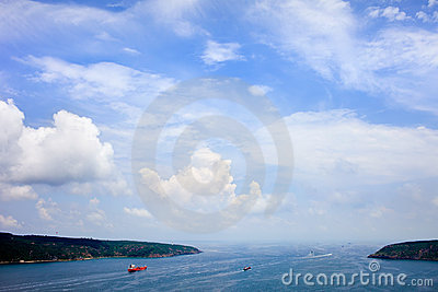 Mouth of the Bosphorus Strait