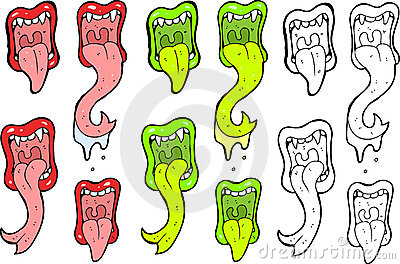 Mouth illustrations