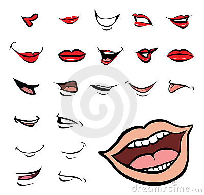 Mouths collection