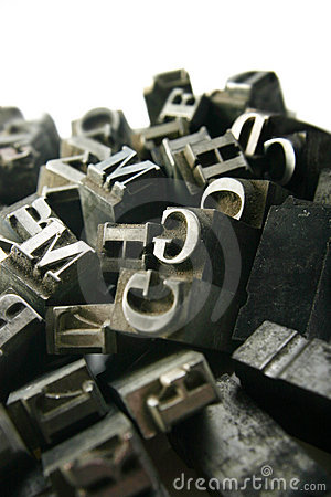 Free Movable Type Royalty Free Stock Image - 1545806