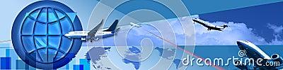 Movement around the world and trade